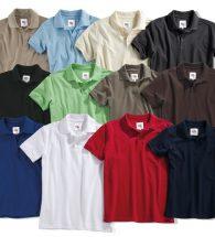 Kookwasbestendige Poloshirts Susa en Iseo