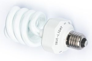 True Light volspectrum daglichtlamp, compact, 20 watt