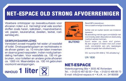 Old Strong professionele afvoerontstopper