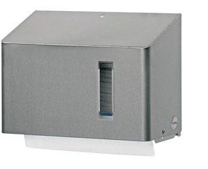 Luxe RVS dispenser voor interfolded handdoekjes - ALS1416827